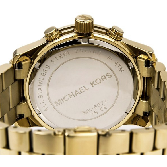 Michael Kors Runway Gold-tone Watch  MK8077