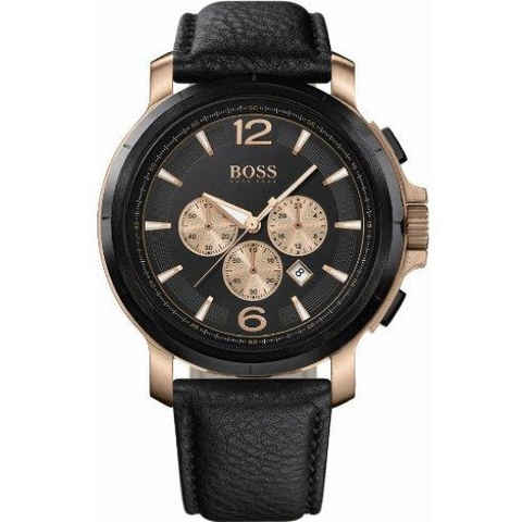 Hugo Boss Jet Men's Quartz Silver Chronograph Watch HB 1513282