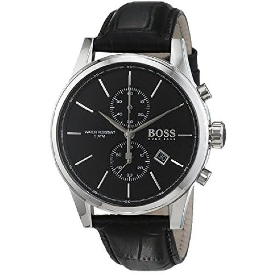 Hugo Boss Jet Men's Quartz Black Chronograph Watch HB 1513279