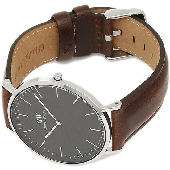 Daniel Wellington Classic Bristol Black Dial 40 MM Men's Watch DW00100131