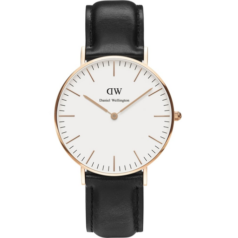 Daniel Wellington Ladies' St Mawes Rose 36mm Watch   DW00100035