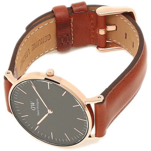 Daniel Wellington Classic St Mawes Black Dial Unisex 36mm Watch DW00100136