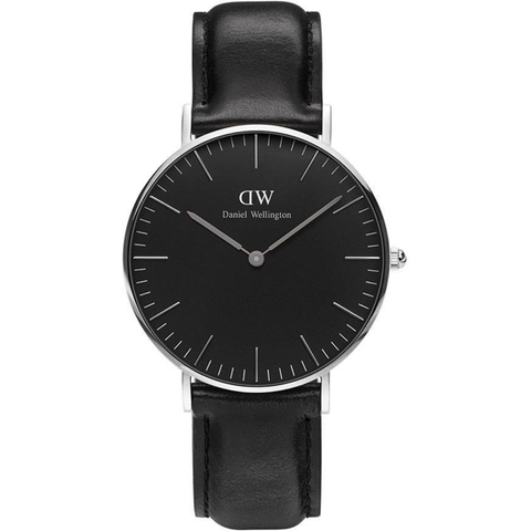 Daniel Wellington Classic Black St Mawes Unisex 36mm Watch 36mm DW00100142