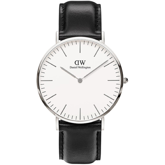 Daniel Wellington Men's Sheffield Silver 40mm Men's Watch  DW00100020