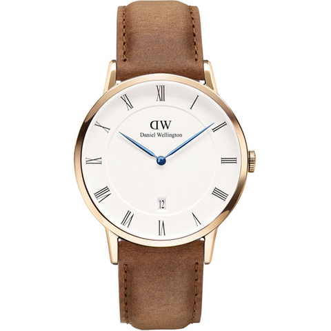 Daniel Wellington Bristol Silver 40mm Men's Watch DW00100023