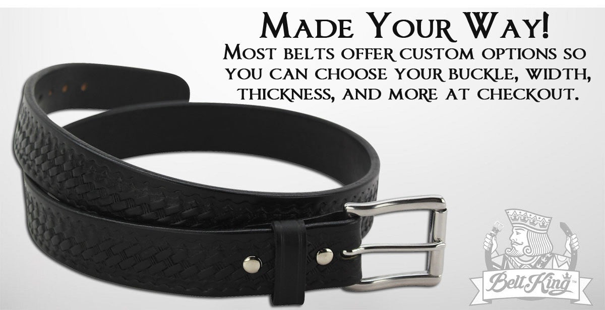 Handcrafted Belts