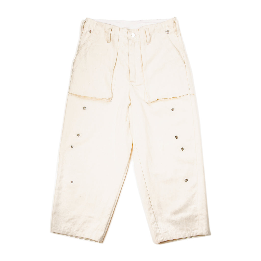 Bora Cargo Pant in Cream
