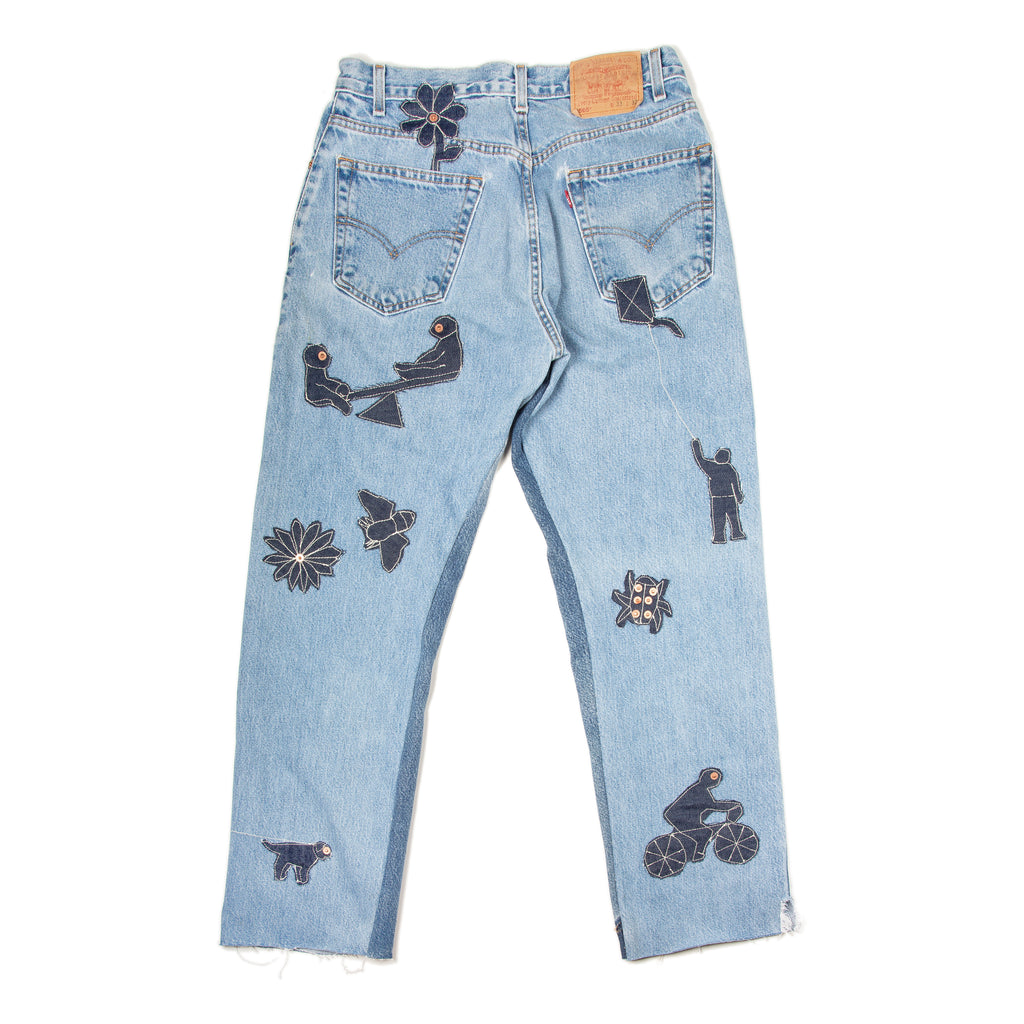 Picture Patchwork Denim Jeans