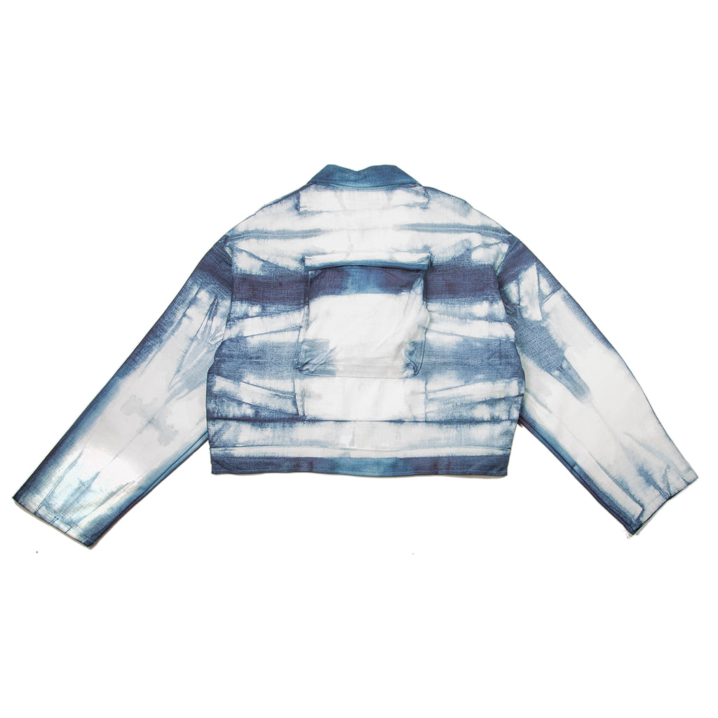 Dross Jacket in Indigo Stripe
