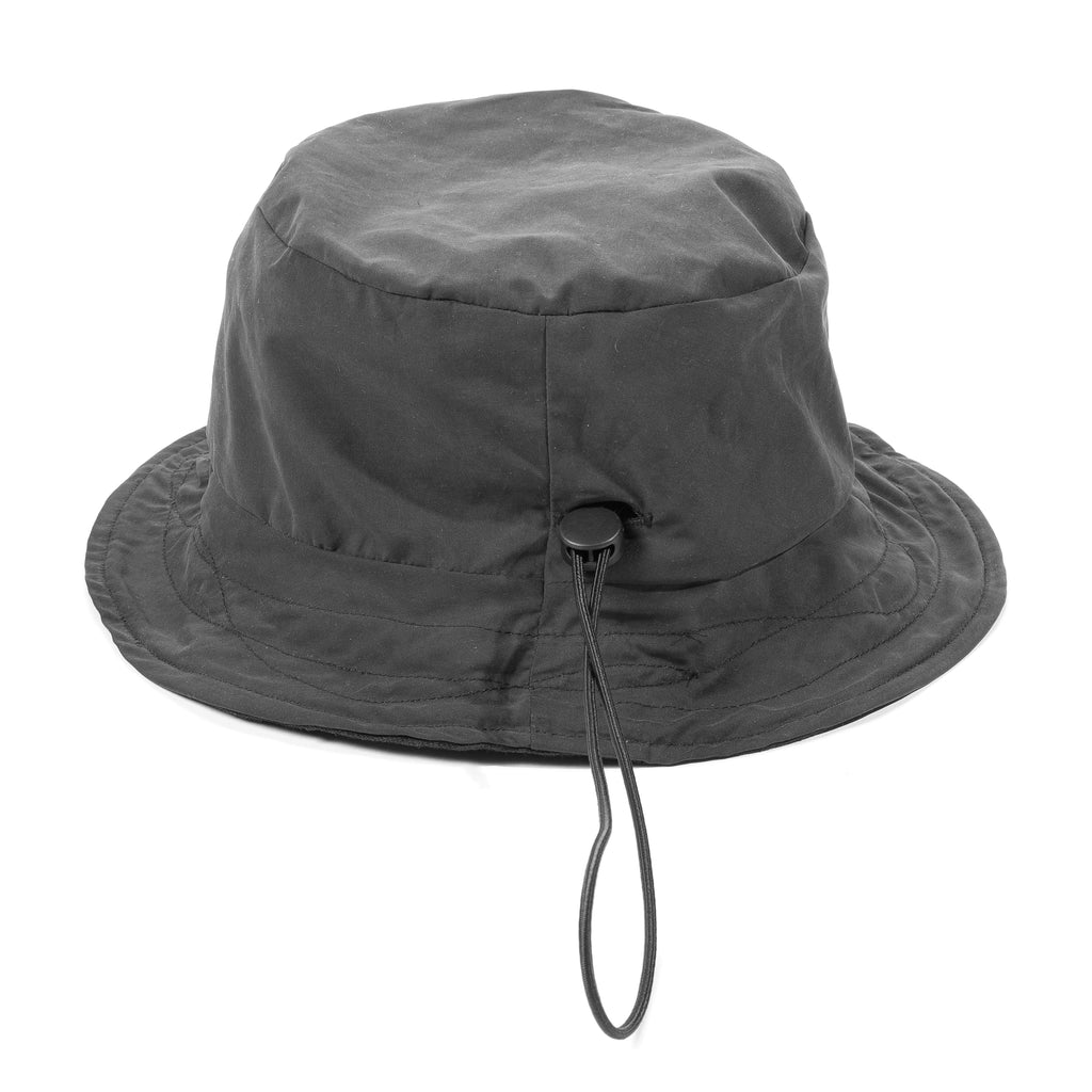 Reversible Bucket Hat in Black