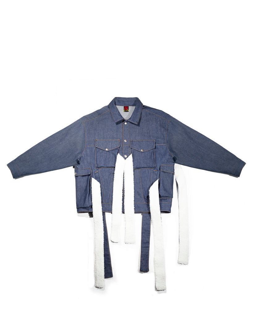 Converging Denim Jacket