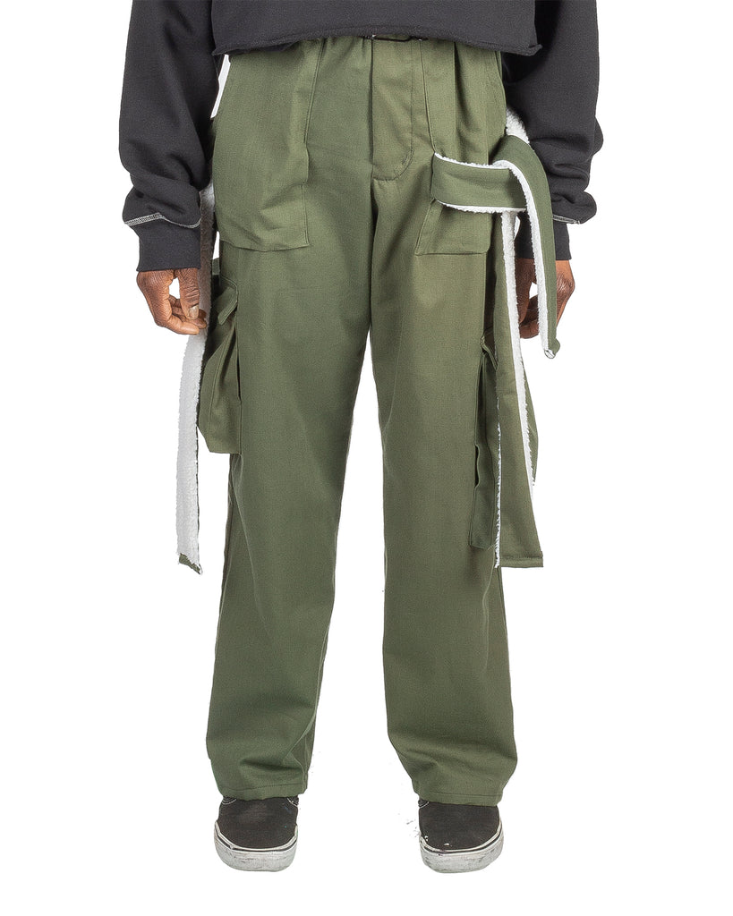 Converging Cargo Pant Olive