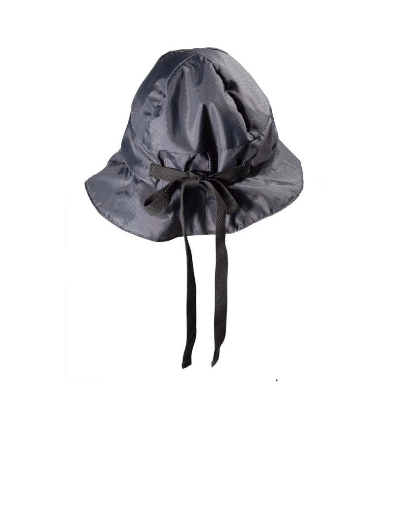 4-Panel Bucket Hat Black Ripstop