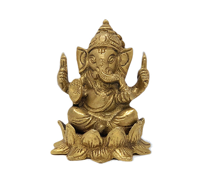 Ganesha on Lotus