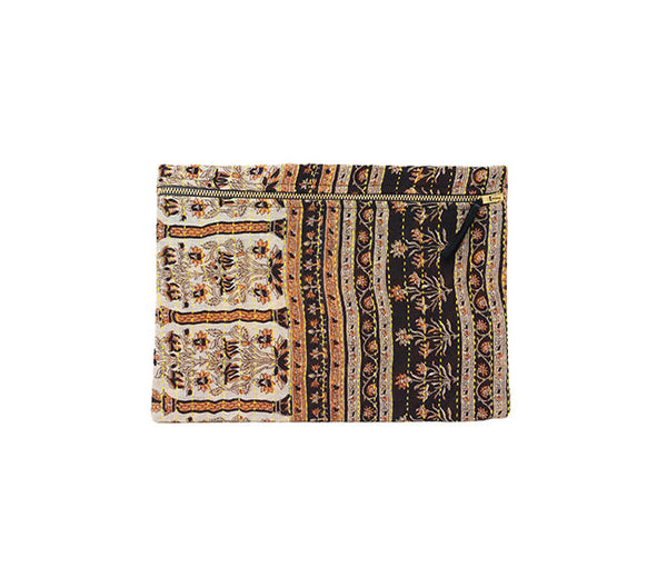 Small Kantha Pouch - Quilted