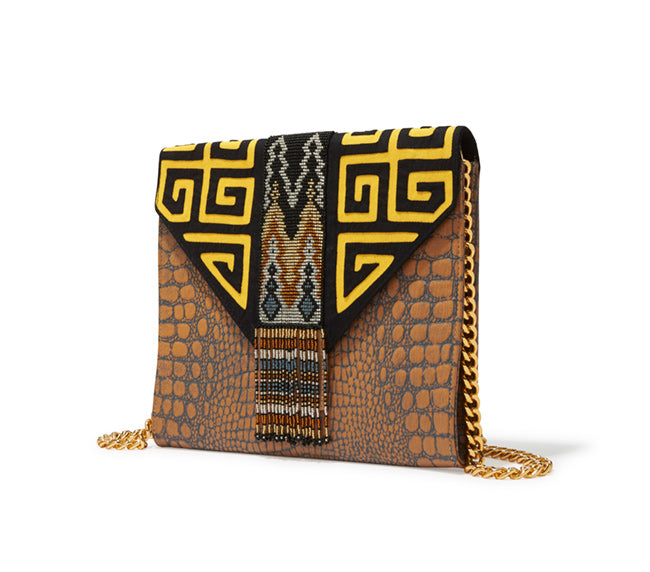 Colombian Beaded Clutch