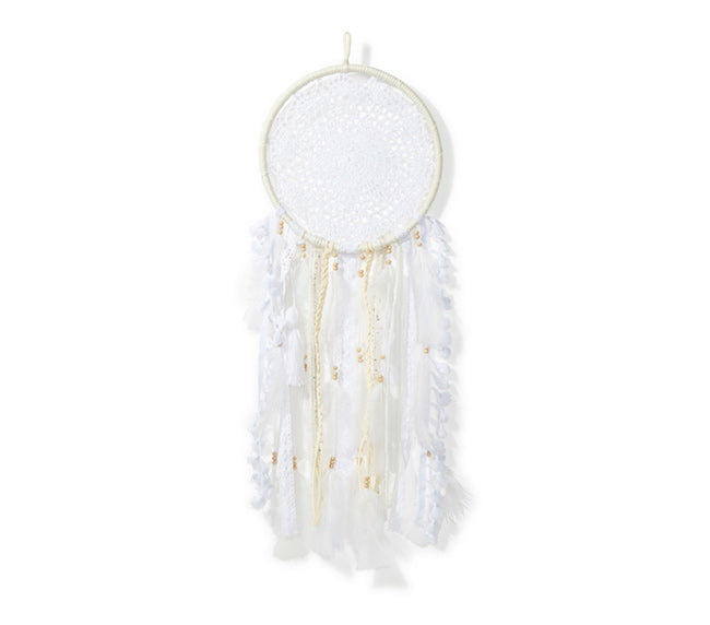 Medium Dream Catcher - White