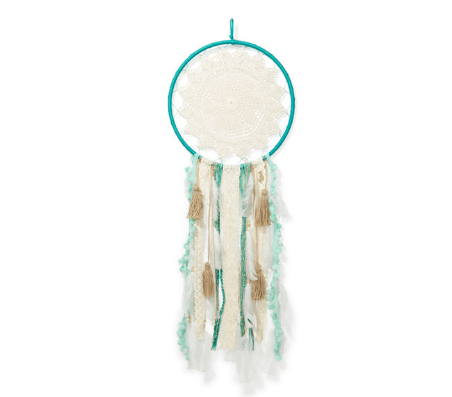 Large Dream Catcher - Turquoise