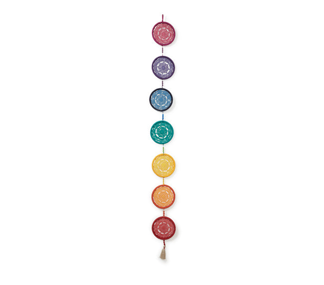Large Chakra Dream Catcher