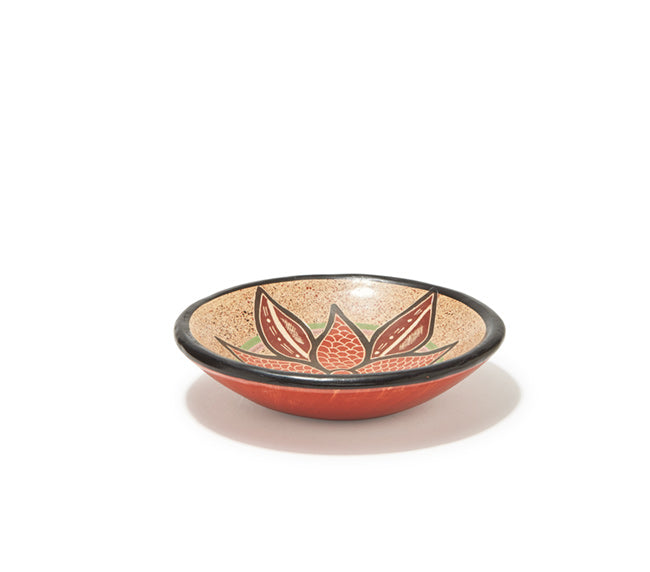 "Guaitil 6"" Bowl - Clay Flower"