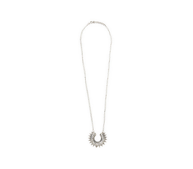 Chandi Sterling Necklace