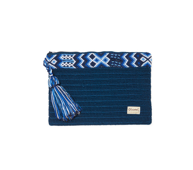 Chiapas Clutch Handbag - Blue