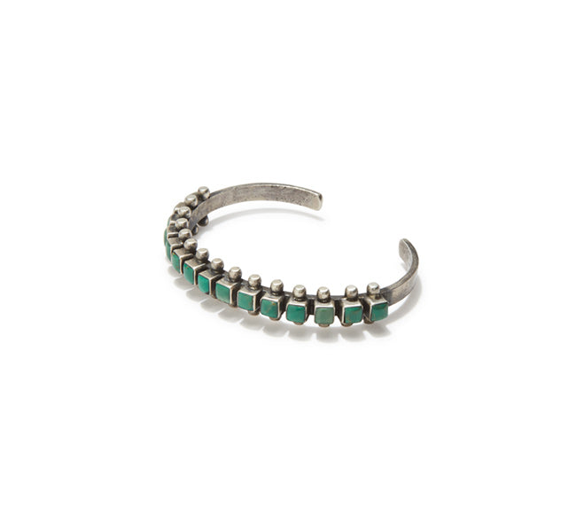Turquoise Cuff - Square Channel Set