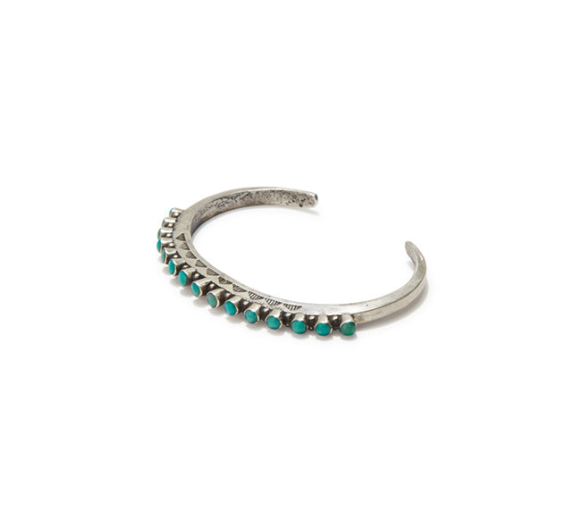 Turquoise Cuff - Round Channel Set