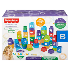 Fisher Price Shakira First Steps Collection Alphabet Blocks