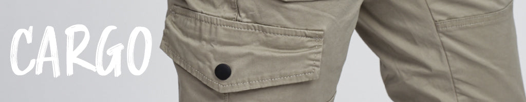 Shop Cargo pants and bottoms online at Below The Belt. Free shipping for orders over $75.