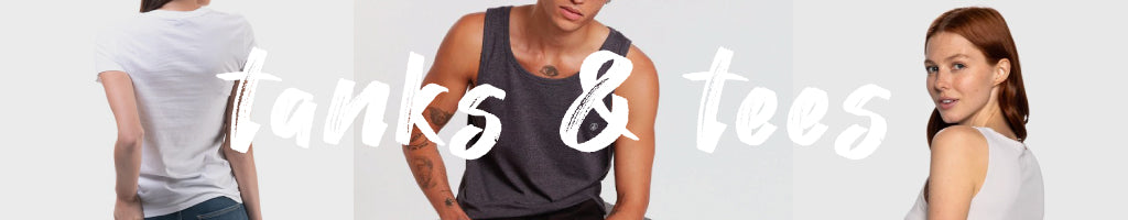 Shop tanks and tees from your favourite brands at Below the Belt. Free shipping available!