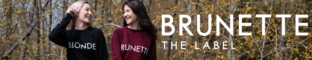 Shop Brunette the Label online at Below The Belt