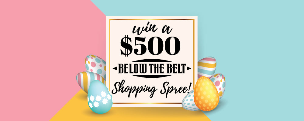 easter egg hunt shopping spree contest win online