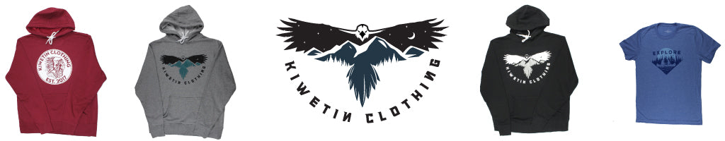 Kiwetin Clothing, Indigenous clothing brand available at Below The Belt Stores