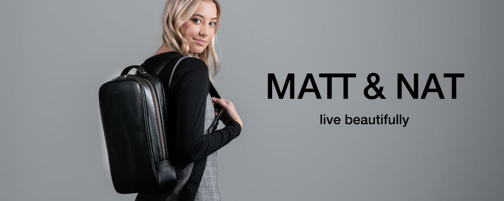 shop matt and nat & online womens vegan bags brave hiley crossbody fabi backpack