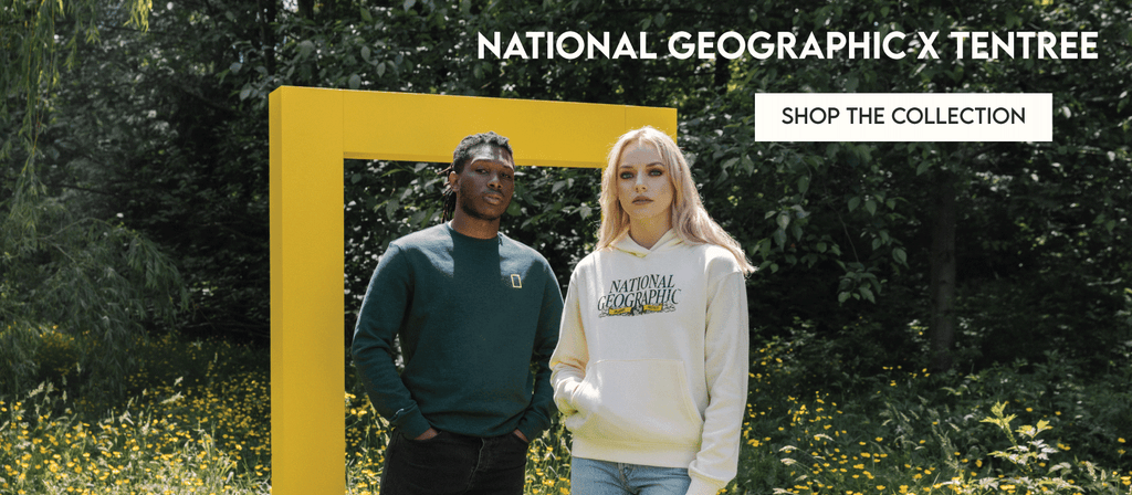 Shop the National Geographic x tentree limited edition collaboration at Below The Belt Store