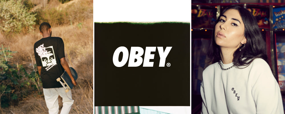 shop obey mens womens online