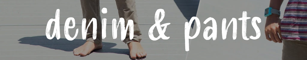 shop youth denim, pants, and joggers online at Below The Belt
