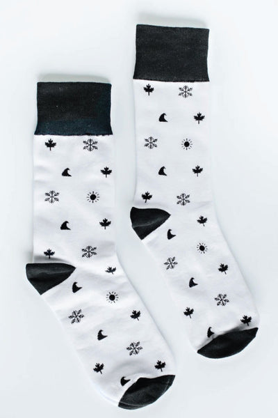 4 Icon Tall Socks - MULT