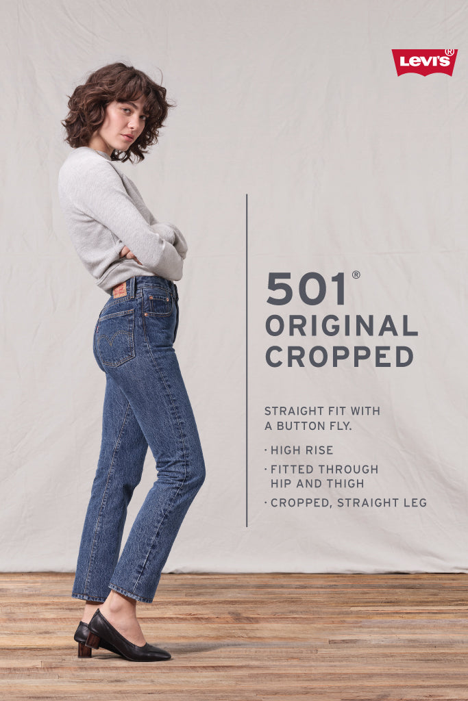 501 Cropped Jeans - 26