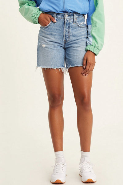 501 Mid Thigh Shorts - LITWSH