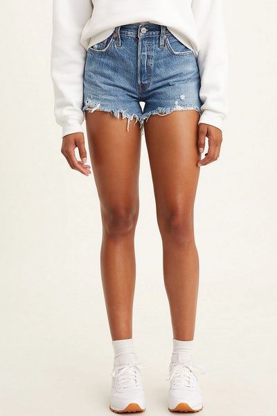 501 Original Shorts - MED WASH