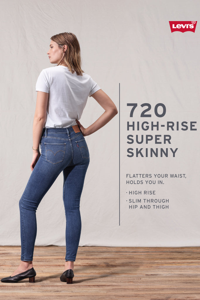 720 High Rise Super Skinny Jeans - 32