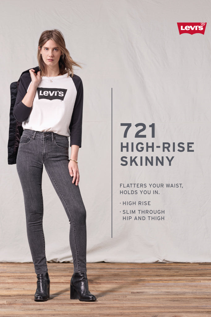 721 High Rise Skinny Jeans - 32