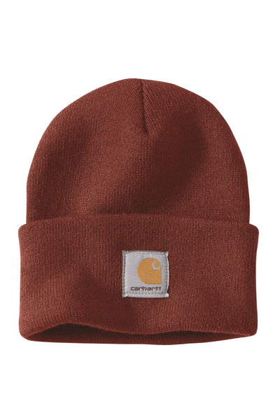 Acrylic Watch Beanie - RED