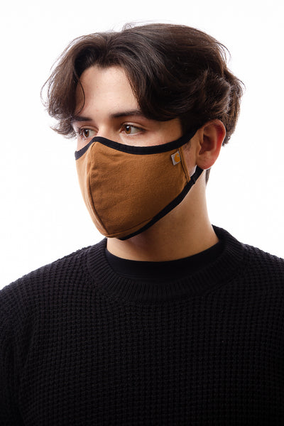 Adult Unisex Cotton Face Mask - BRN