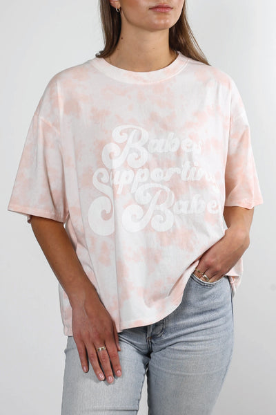 Babes Supporting Babes Vintage Boxy Tee - MRB