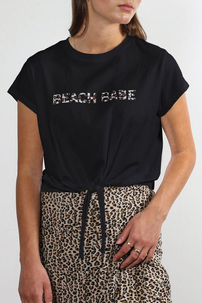 Beach Babe Tee - Black
