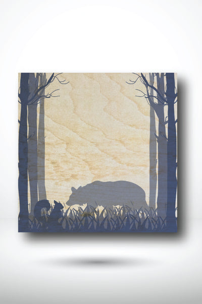Bear In The Forest Coaster - BEAR