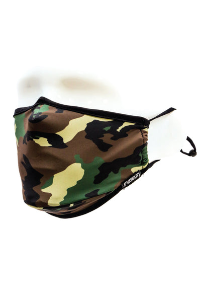 Camo Face Mask - GRN